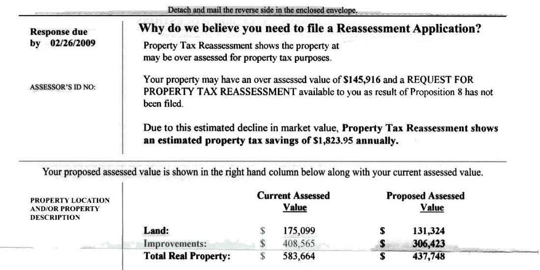 Los Angeles Property Tax Reassessment