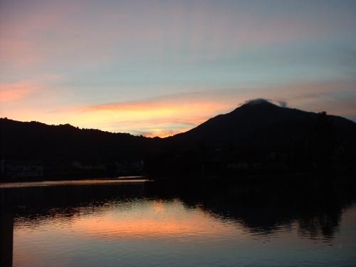 larkspur sunset