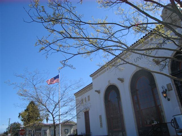 Petaluma Post Office In The Early Spring