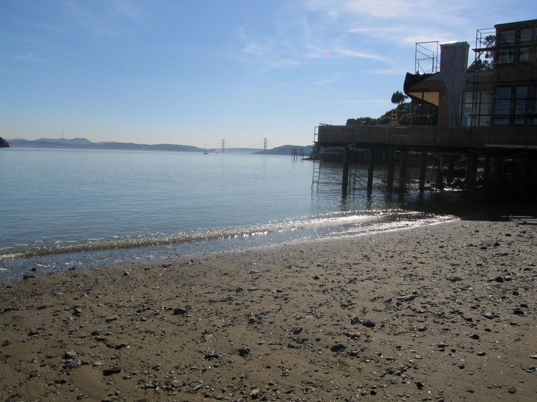 Golden Gate Bridge as seen from Mar East in Tiburon, by Kelley Eling, Marin County Realtor