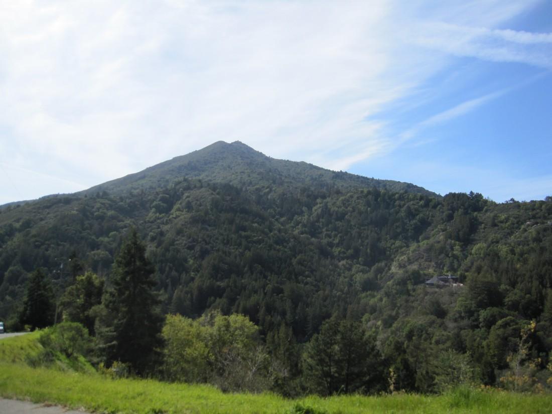 Mount Tamalpais as seen from Crown Road in Kentfield, taken by Kelley Eling, Marin County Realtor
