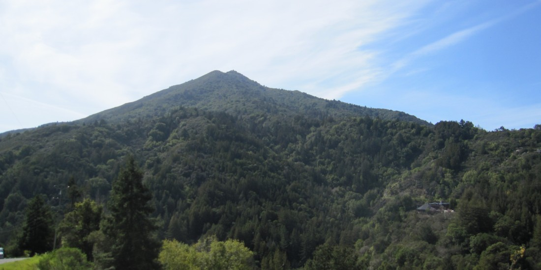 Mount Tamalpais as seen from Crown Road in Kentfield, taken by Kelley Eling, Marin County Realtor