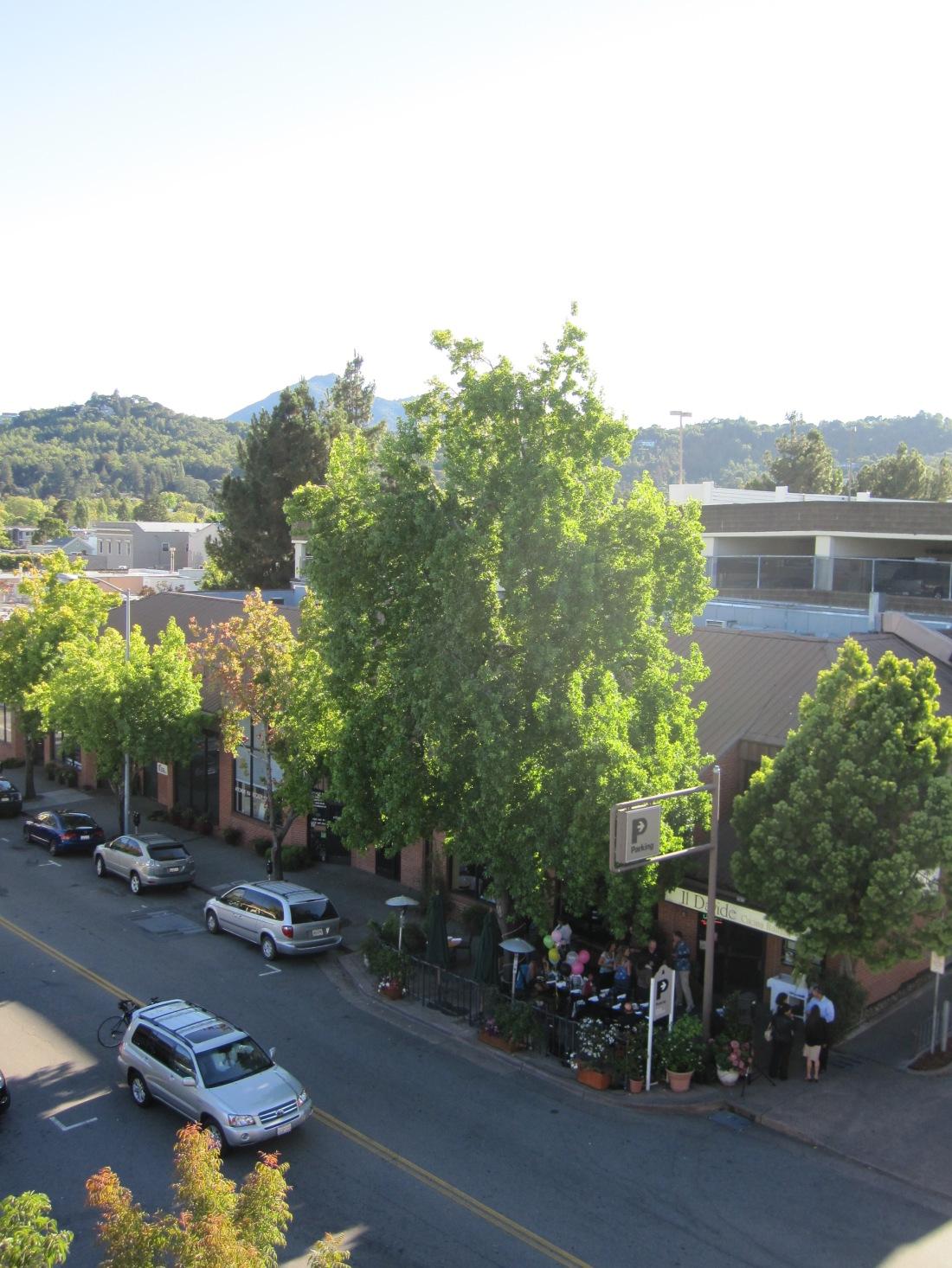 Il Davide Restaurant on A Street in San Rafael by Kelley Eling, Marin County Realtor