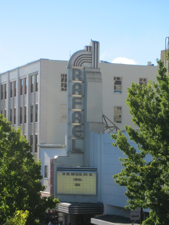 Rafael Theater in Downtown San Rafael, by Kelley Eling, Marin County Realtor