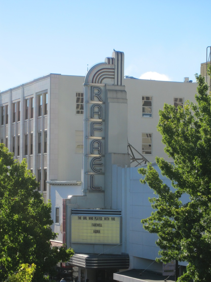 Rafael Theater in Downtown San Rafael, by Kelley Eling, Marin County Realtor