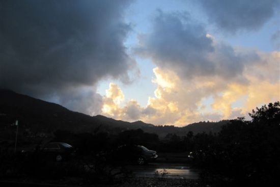 Storm Coming Into Greenbrae, by Kelley Eling, Marin County Realtor