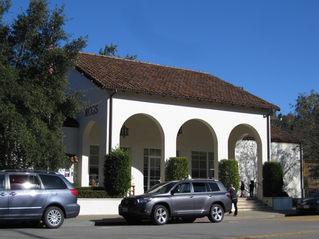 Ross Post Office by Kelley Eling, Marin County Realtor