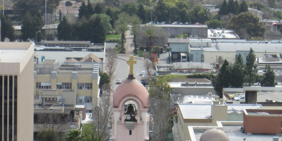 San Rafael as seen from San Rafael Hill by Kelley Eling, Marin County Realtor