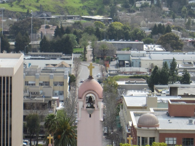 San Rafael as seen from San Rafael Hill by Kelley Eling, Marin County Realtor