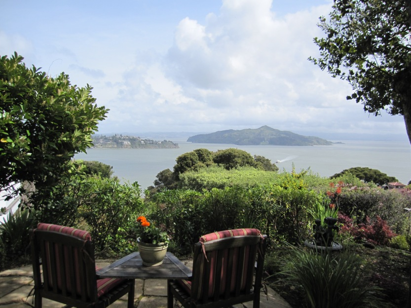 A view of San Francisco Bay and Angel Island from Sausalito by Kelley Eling, Marin County Realtor