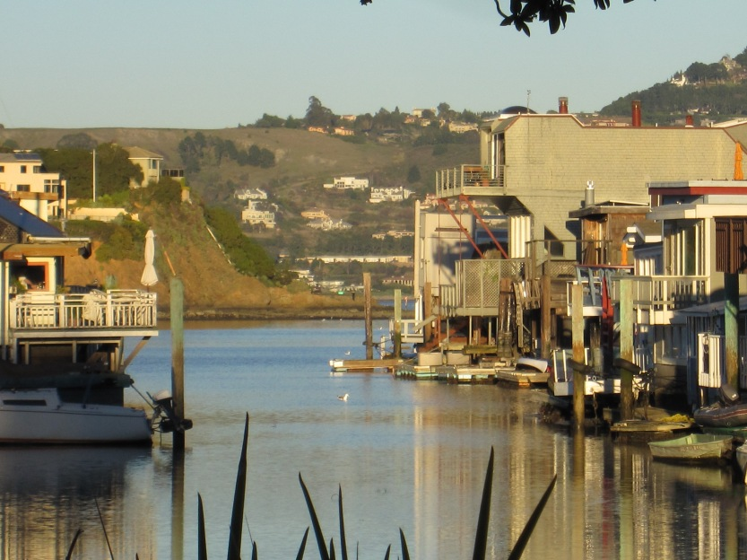 Sausalito Houseboats by Kelley Eling, Marin County Realtor