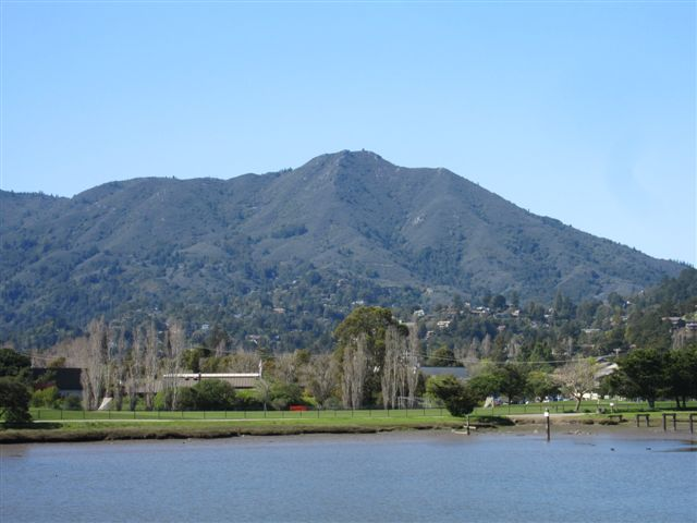 Mount Tamalpais as seen from Bay Front Park in Mill Valley by Kelley Eling, Marin County Realtor