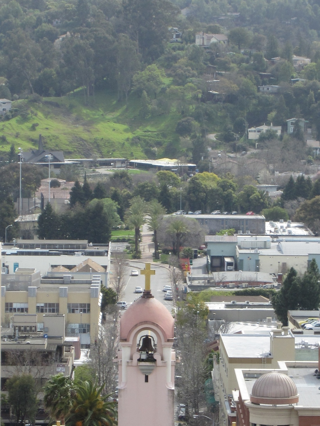 Mission San Raphael Arcangel as seen from San Rafael Hill by Kelley Eling, Marin County Realtor