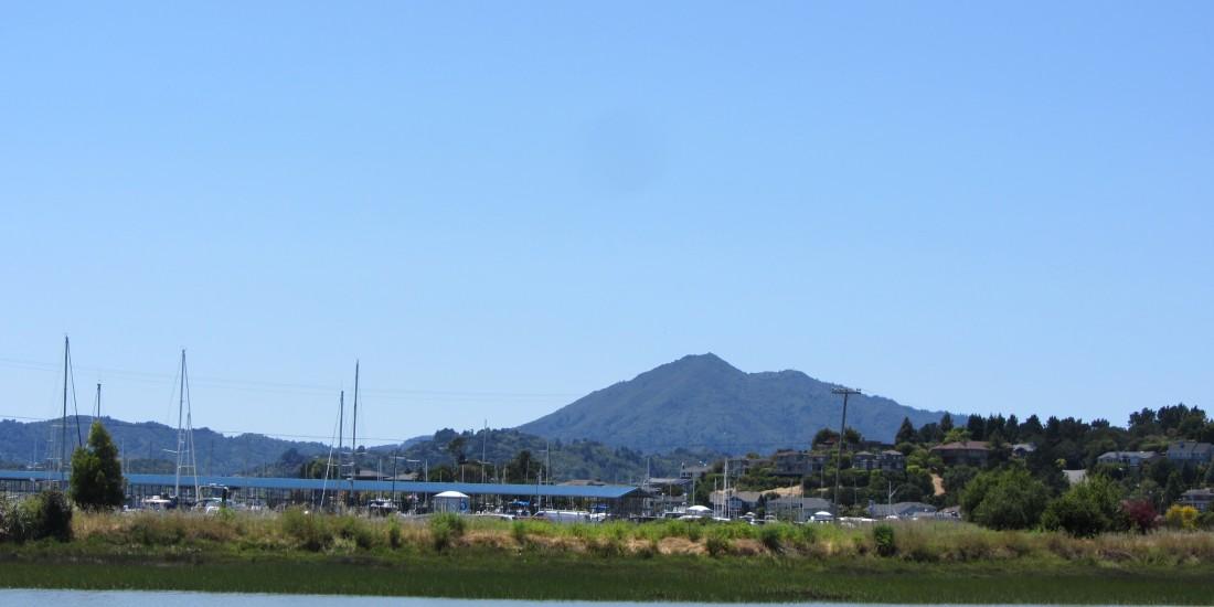 Mount Tamalpais as seen from Peacock Gap in San Rafael by Kelley Eling, Marin County Realtor