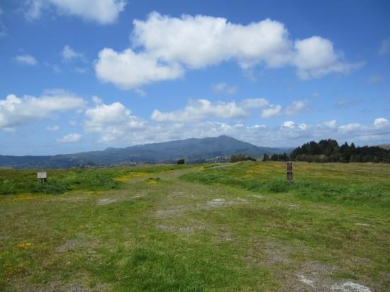 Mount Tamalpais as seen from Ring Mountain in Tiburon by Kelley Eling, Marin County Realtor