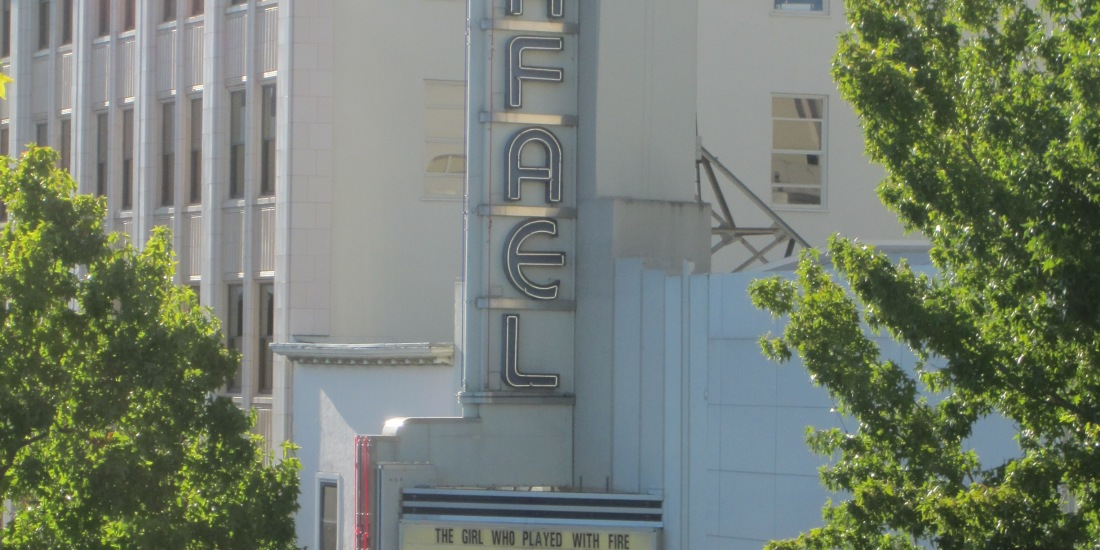 Rafael Theater by Kelley Eling, Marin County Realtor