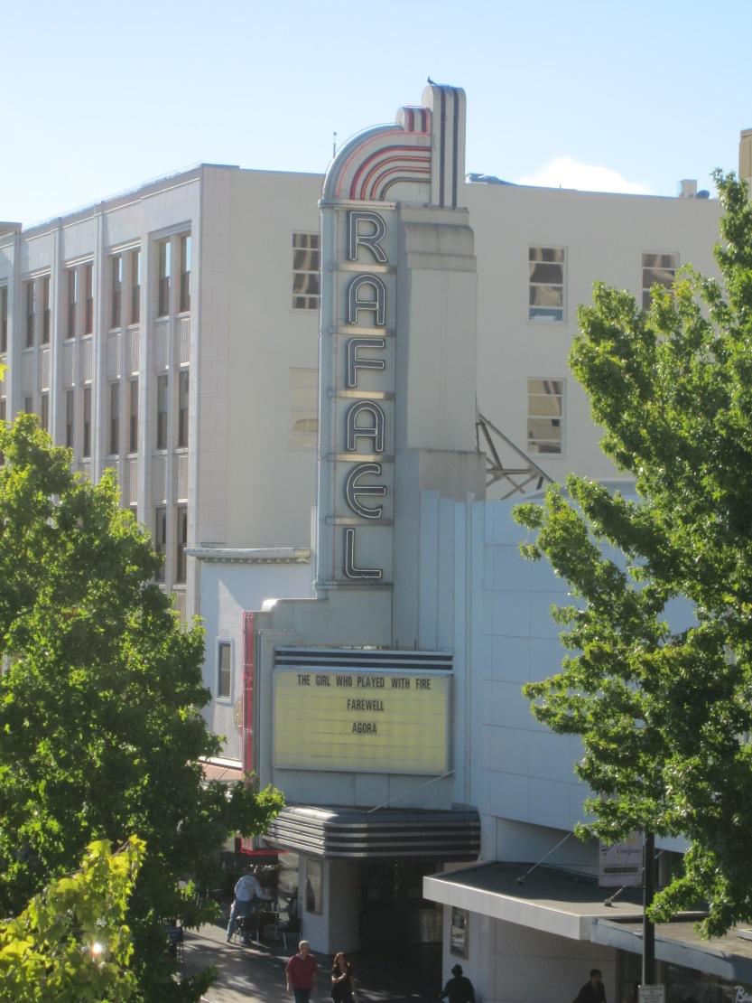 Rafael Theater by Kelley Eling, Marin County Realtor