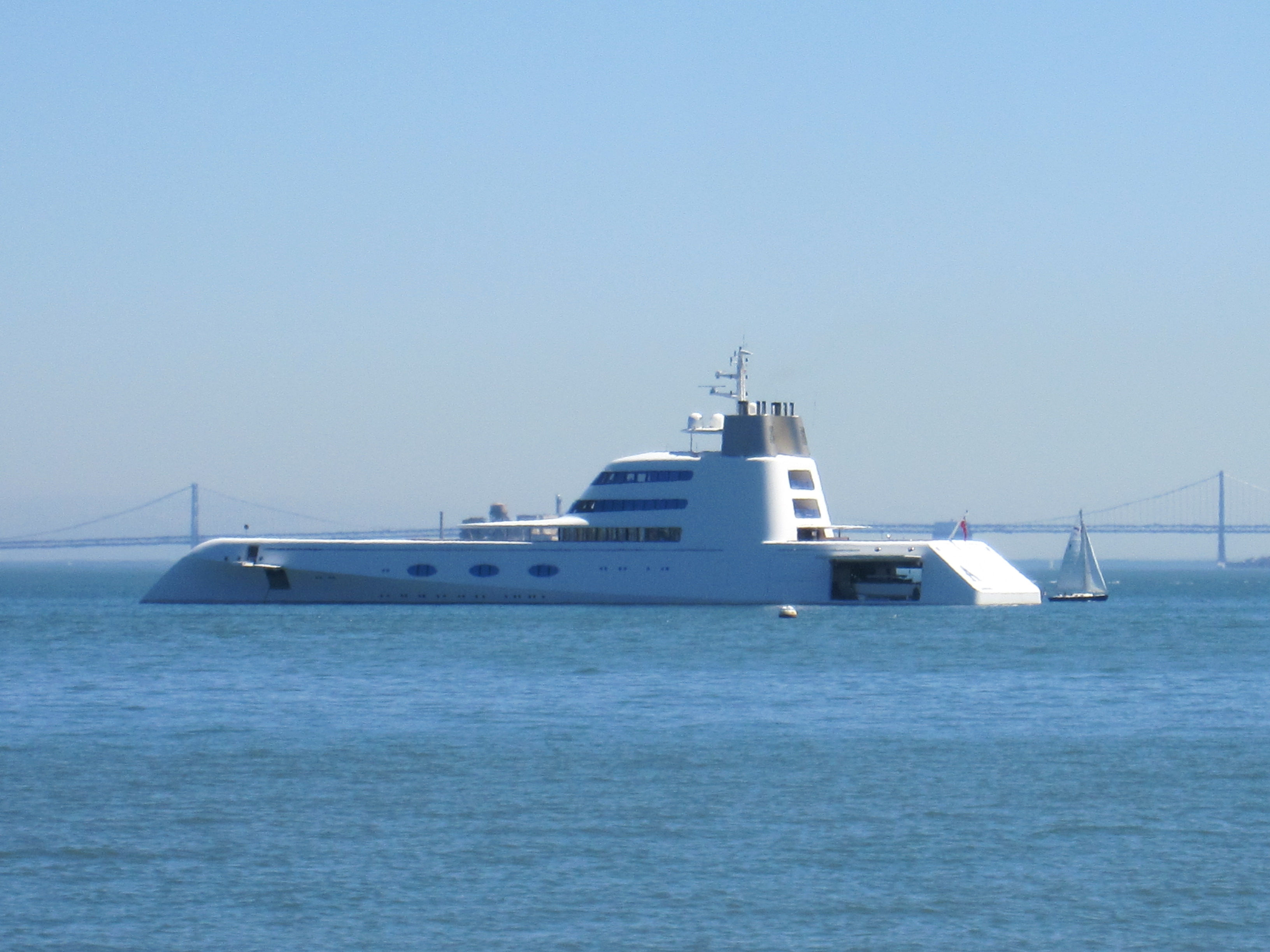 Yacht Anchored in Sausalito by Kelley Eling, Marin County Realtor