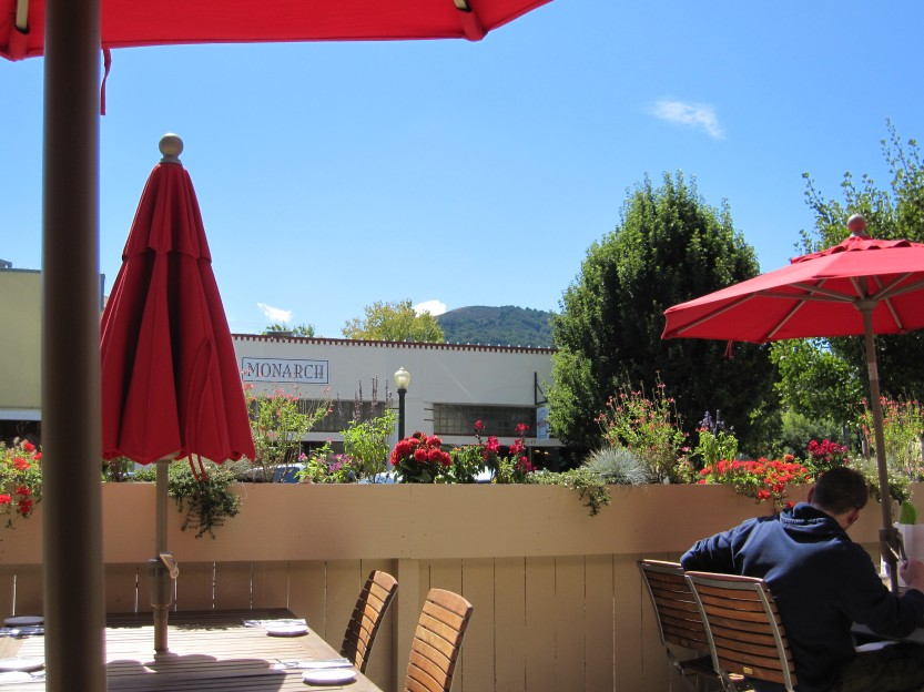 The Patio at L'Appart Resto in San Anselmo by Kelley Eling, Marin County Realtor