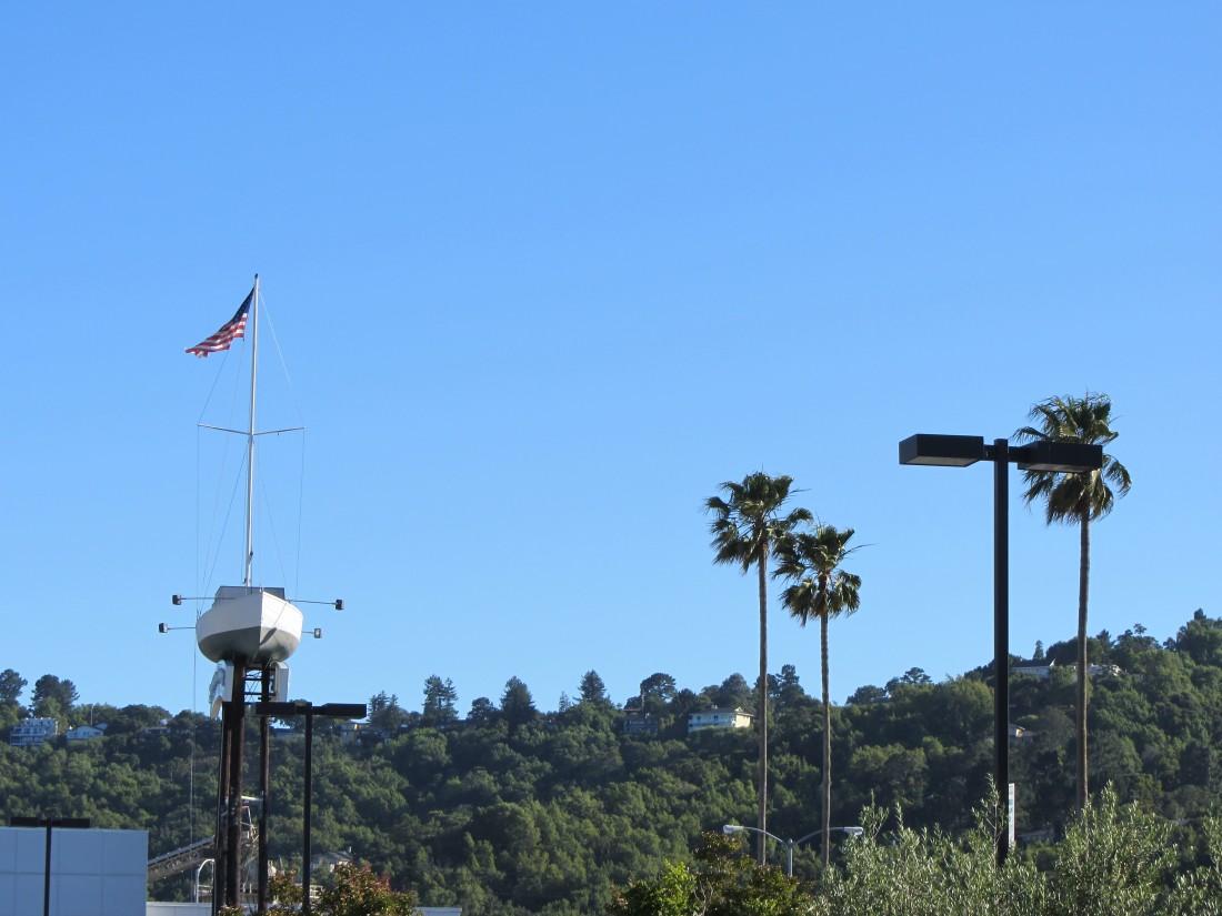Outside Seafood Peddler in San Rafael by Kelley Eling, Marin County Realtor
