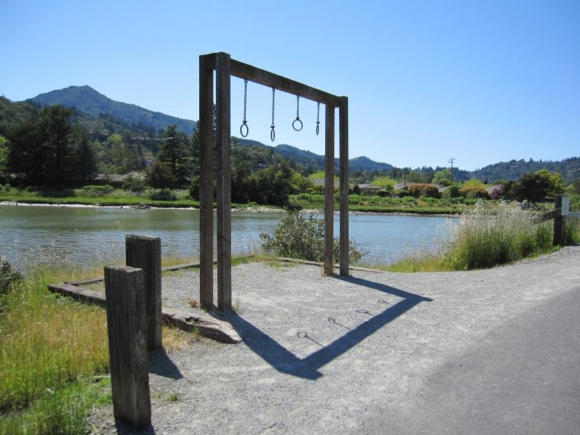 Kentfield Bike Path by Kelley Eling, Marin County Realtor