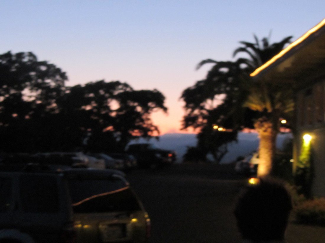 Dusk at Hilltop 1982 in Novato by Kelley Eling, Marin County Realtor