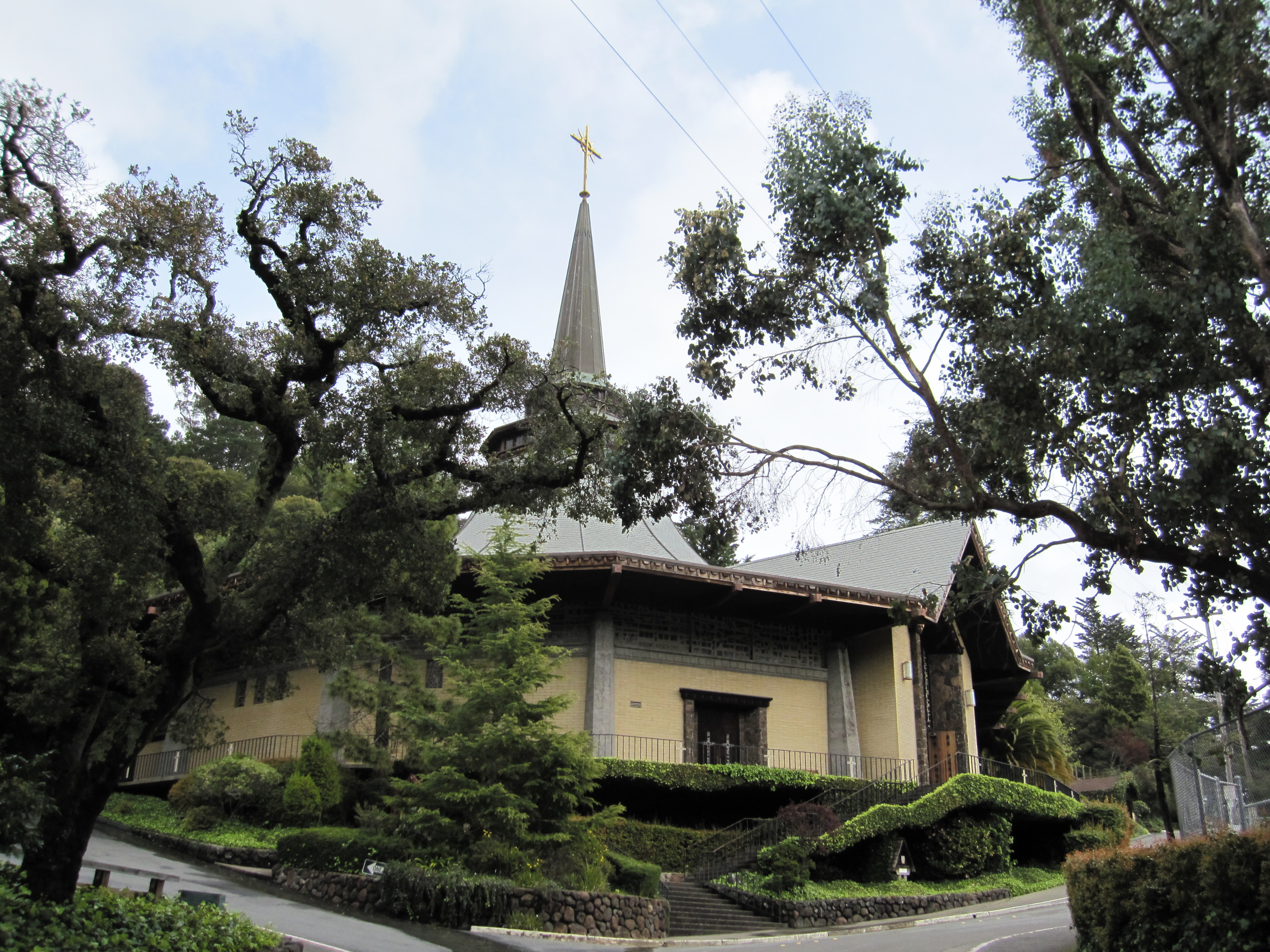 Our lady of mount carmel church in mill valley by kelley for Homes in mill valley ca