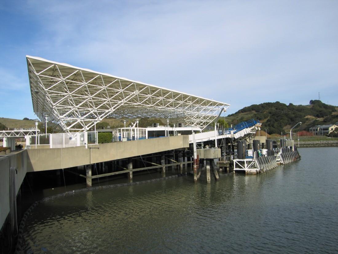 Larkspur Ferry Terminal by Kelley Eling, Marin County Realtor