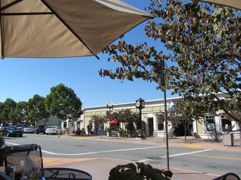 Grant Avenue in Novato as seen from Grazie by Kelley Eling, Marin County Realtor
