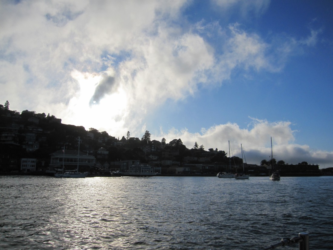 Fog Rolling Into Sausalito by Kelley Eling, Marin County Realtor