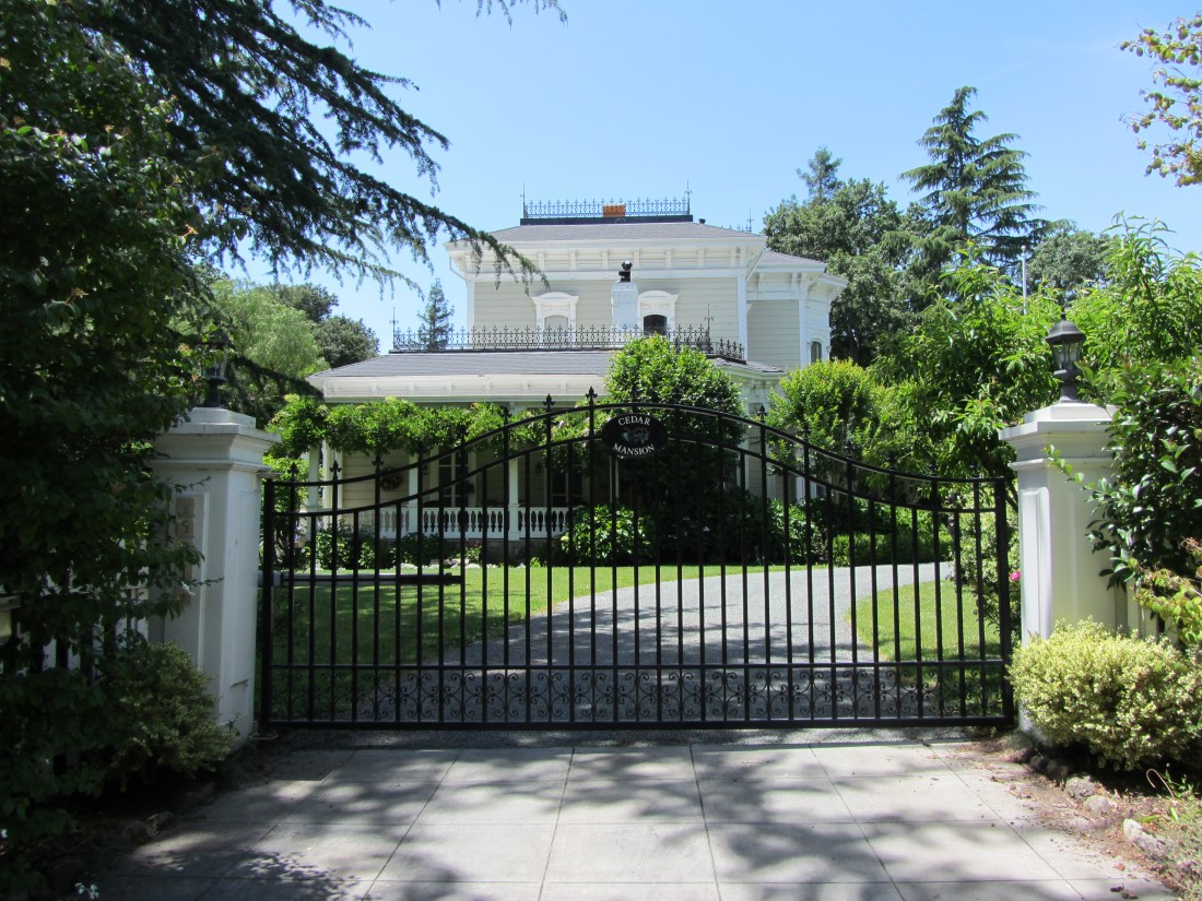 The Cedar Mansion in downtown Sonoma by Kelley Eling, Marin County Realtor