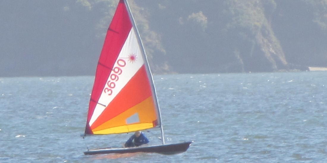 Floating Solo on Tomales Bay by Kelley Eling, Marin County Realtor