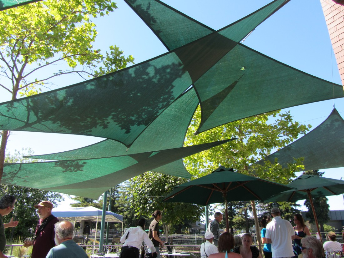 Outdoor Dining with Live Music at Graffiti in Petaluma by Kelley Eling, Mariin County Realtor