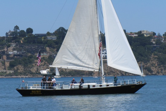 Sailing in Sausalito by Kelley Eling, Marin County Realtor