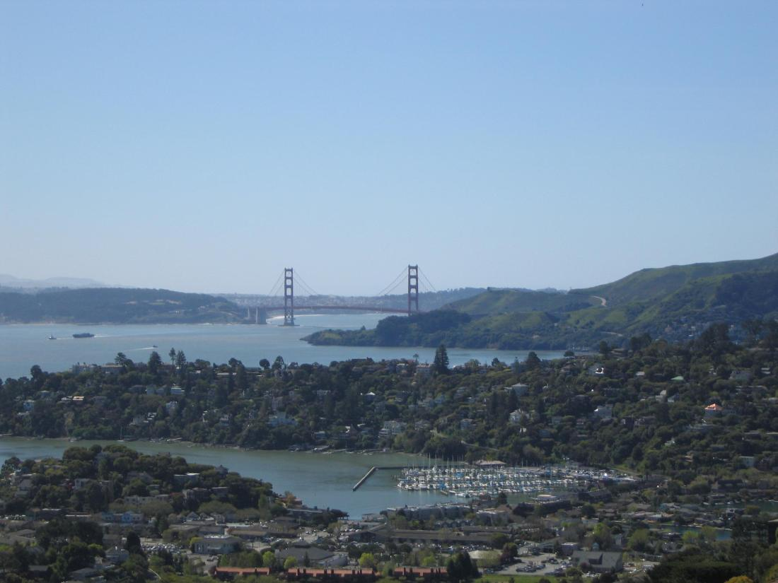 Golden Gate Bridge, Tiburon and Belvedere by Kelley Eling, Marin County Realtor