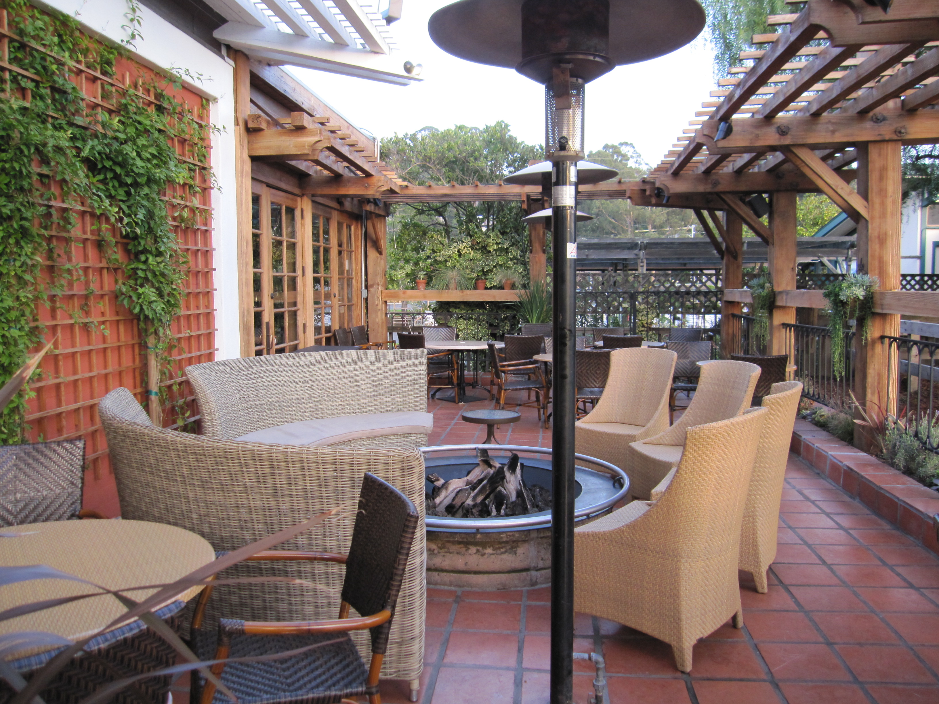 Front Patio At The Cantina In Mill Valley By Kelley Eling, Marin County  Realtor