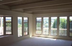 living room toward view