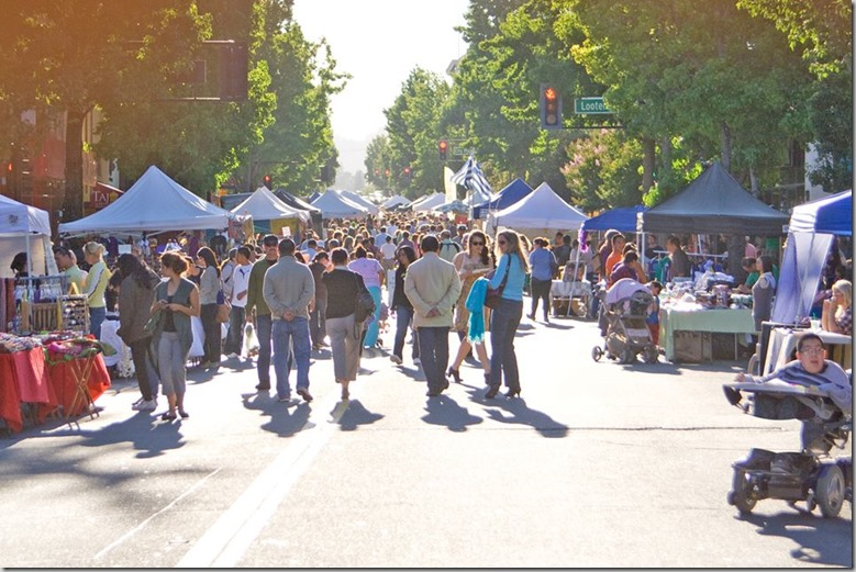 Downtown San Rafael Farmers Market Festival Facebook Cover Photo