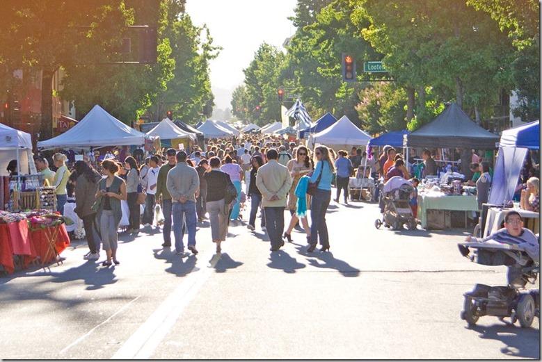 Downtown San Rafael Farmers Market Festival Facebook Cover Photo