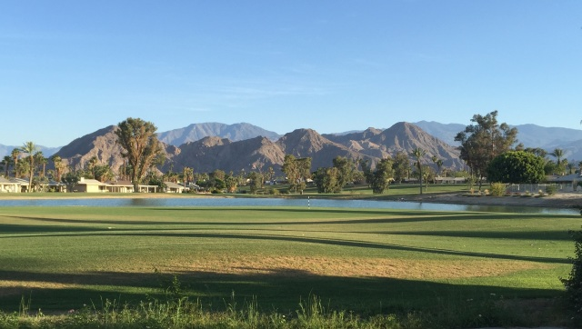 View from Missouri Drive in Palm Desert Country Club by Kelley Eling, Realtor